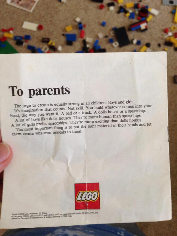 LEGO's letter to parents, and how not to tell a fake when you don't see one — Medium