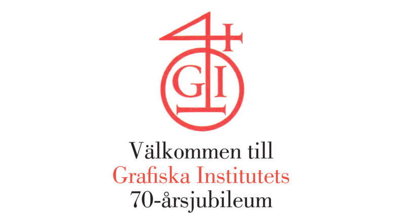 Grafiska Institutet 70 år