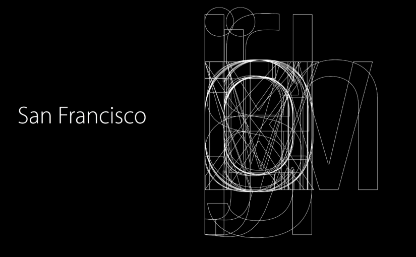 The Secret of the Apple's New San Francisco Fonts | Medium